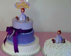 Princess Sofia Party, Birthday Cakes, Desserts, Food, Tailgate Desserts, Deserts, Essen, Birthday Cake, Postres