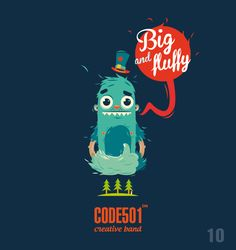 NEW DAY - NEW CHARACTER | CODE501 | Today | 16 characte by CODE501 - CREATIVE BAND ! , via Behance