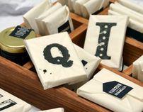 letterpress home made biscuit