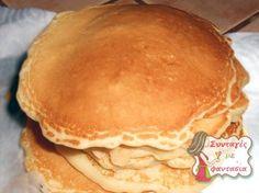 Νηστίσιμα Pancakes  Pancakes, χωρίς αβγά και γάλα! Μία εύκολη πρόταση για το πρωινό μας, γευστική και κυρίως νηστίσιμη! Greek Recipes, Baby Food Recipes, Snack Recipes, Dessert Recipes, Snacks, Small Desserts, Vegan Desserts, Vegan Recipes, Cooking Recipes