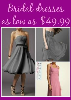 Bridal dresses WEDDING SEASON ~ BRIDES MAID DRESSES AS LOW AS $49.99 #WEDDING #BRIDESMAIDS #DRESSES