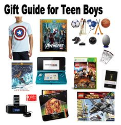 Gift Guide For Teen Boys Gifts Christmas