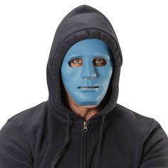 Masque Neutre Bleue #masquesdéguisements #accessoiresdéguisements #accessoiresphotocall