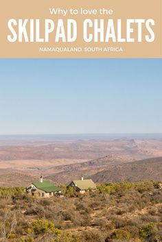 There are just four chalets in the Skilpad section of the Namaqua National Park near Kamieskroon in South Africa, but lots of reasons to love them. Places To Travel, Travel Destinations, Places To Go, Kruger National Park, National Parks, Wildlife Safari, Slow Travel, Africa Travel, The Great Outdoors