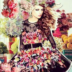 Mulheres flores #art #colors #flowers #colagens #collages #crisarruda
