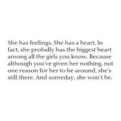 And someday, she won't be. That would be the day you lost her. ❤ liked on Polyvore