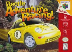 Beetle adventure racing for N64. Loved this game