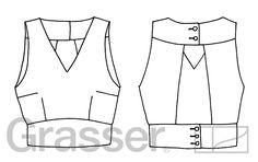 Топ, выкройка №202 купить on-line Fashion Illustration Sketches, Fashion Sketchbook, Fashion Sketches, Fashion Artwork, Fashion Design Drawings, Dress Sewing Patterns, Clothing Patterns, Croquis Fashion, Clothing Sketches
