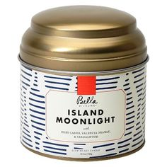 Bella Island Moonlight Tin : Target - apparently just like anthro's volcano?!