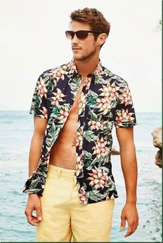 Mens Active Wear Beach Wear Mens Sportswear -summer beach outfits for men