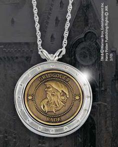 Colgante Harry Potter. Moneda Gringotts