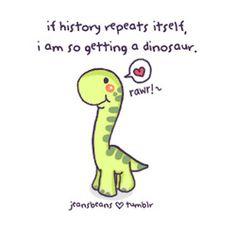 cute dinosaur!! Yay Jurasic Park!