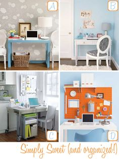 Home Office Organizing Tips, storage, utilize space, DIY guide, No clutter, Clean, How to, Office ideas.