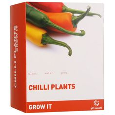 Grow Your Own Chilli Plants Gift Set, £7.99 IWOOT