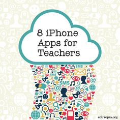 Teach With Your iPhone: Apps to Use in the Classroom You don't need a class set of tablets to integrate tech into your teaching. Check out this list of free apps to change up your routine next year. Teacher Organization, Teacher Tools, Teacher Resources, Teacher Apps, E Learning, School Classroom, Classroom Activities, Classroom Ideas, Future Classroom
