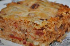 Maltese Baked rice (Ross il forn) (Maltese Food, Maltese Recipes, Maltese Cuisine)