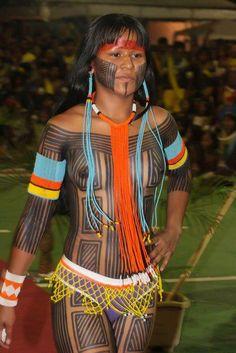 Beleza indígena brasileira 15.