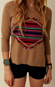 Mad Love Wild One Oversized Sweater