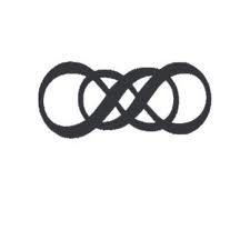 a lifetime commitment of two as one signified by intertwined infinity symbols, would be a beautiful engraving on wedding bands