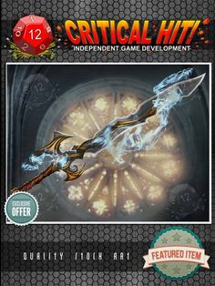 Silver Stock Art - Artefacts: Magic Sword - 1manstudio | RPGNow.com