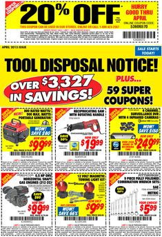 (5) Harbor Freight 25 off Coupon 7 Function Digital