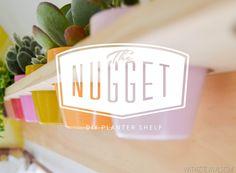 The Nugget: Vintage Camper Makeover Series, Part 21: Planter Shelf | Vintage Revivals