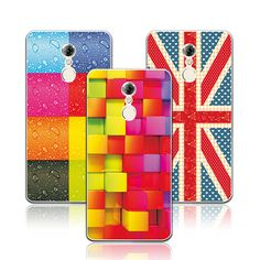 Newest Floral Soft Silicone Case For Lenovo K6 Note Case 5.5'' Colorful Painted Cover For Lenovo K6 Note coque K6 note
