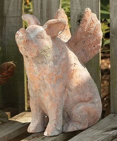 "Look at this #zulilyfind! Flying Pig Statue by Napa Home & Garden #zulilyfinds. somehow it ""speaks"" to me!"