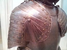 Cool suit of armor at the Metropolitan Museum of Art in NYC