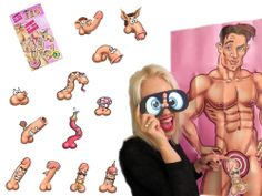 Hen Night Party Bride to Be Funny Willy Game Junk on the Hunk up to 12 Players