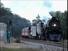 Railfanning the CP Main 8/13/2008 Part 2 - MILW 261 Again + CP 9653 West - YouTube