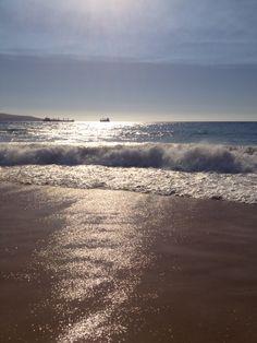 Playa Larga, Viña del Mar, Chile.