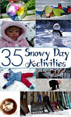 The best snow day activities for all ages! Even parents can get in on these, and you'll have enough snow day ideas to keep the entire neighborhood busy!