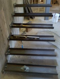Timber Springs Lodge: Floating Stair Update