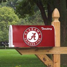 Alabama Crimson Tide Logo Mailbox Cover