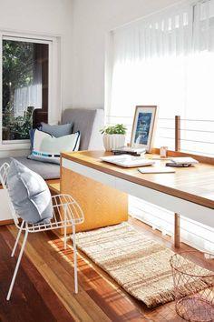 minimalist home office