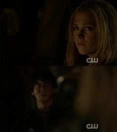 """#The100 3x11 """"Nevermore"""" - Clarke and Bellamy"""