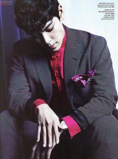 [Сканы] T.O.P для журнала «Harper's Bazaar» (сентябрь 2014)