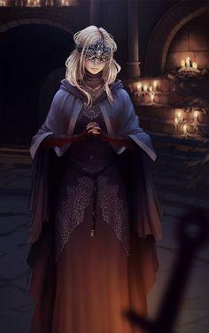 Fire keeper, Dark Souls 3 fan art by rafaarsen.deviantart.com on @DeviantArt - More at https://pinterest.com/supergirlsart #female #fantasy #art
