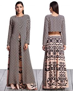Payal Singhal - Palazzo Pants With back Crop Top