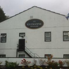Glengoyne scotch distillery outside of Glasgow Scotland