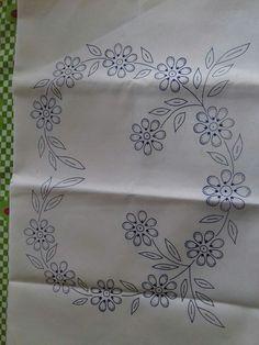 Diy Embroidery Kit, Embroidery On Kurtis, Kurti Embroidery Design, Embroidery Flowers Pattern, Embroidery Transfers, Embroidery Patterns Free, Hand Embroidery Designs, Vintage Embroidery, Ribbon Embroidery