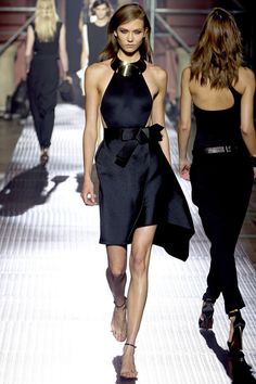 Celebrities who wear, use, or own Lanvin Spring 2013 RTW Black Dress. Also discover the movies, TV shows, and events associated with Lanvin Spring 2013 RTW Black Dress. Fashion Week Paris, Runway Fashion, Lanvin, Love Fashion, High Fashion, Fashion Show, Style Fashion, Pretty Dresses, Beautiful Dresses