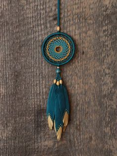 Dream cathcer Car dreamcatcher Small dream catcher Dark