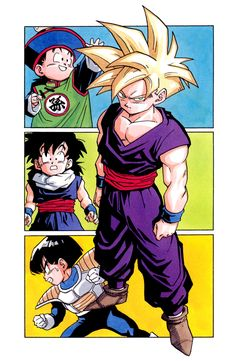 Gohan (when he's young. He was so great until the Buu saga. I feel like his character got so off track)