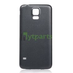 Samsung galaxy s5 phone repair parts-Replacement OEM Back Housing Battery Door Cover for Samsung Galaxy S5 Black