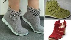 Örgü Ayakkabılar |Ayakkabı Örgü Modelleri Crochet Shoes Pattern, Shoe Pattern, Crochet Slippers, Crochet Toys Patterns, Baby Knitting Patterns, Hand Knitting, Crochet Baby, Knit Crochet, Christmas Tree Skirts Patterns