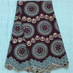African Embroidery Lace Fabric LKLACE4344-9  https://www.lacekingdom.com/      #embroiderylace