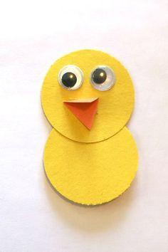 Bird Crafts Preschool, Crafts For 3 Year Olds, Spring Crafts For Kids, Fun Crafts For Kids, Summer Crafts, Creative Crafts, Games For Kids, Gifted Kids, Baby Chicks
