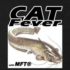 CAT Fever - T-shirt Noir